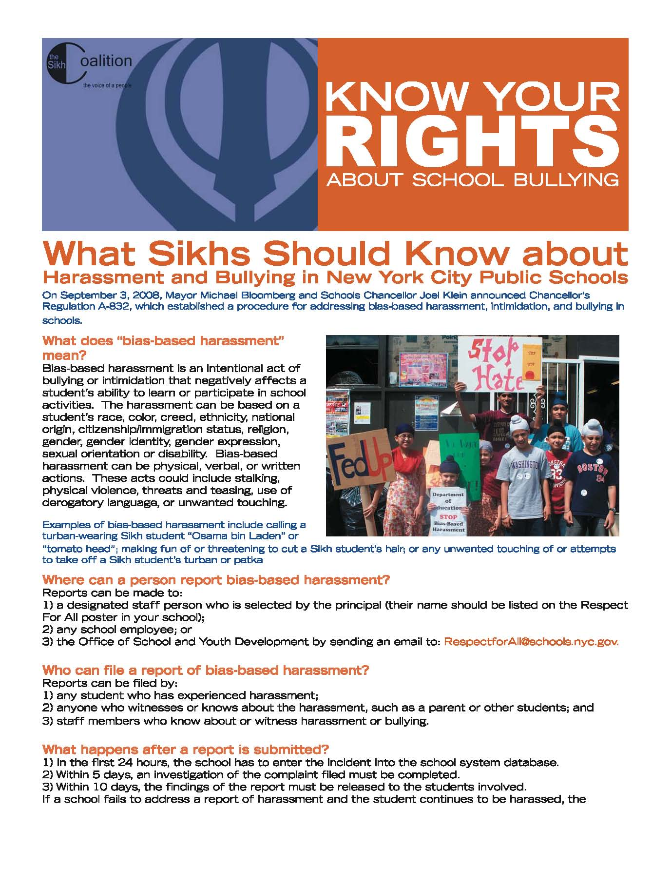Know Your Rights - Report Thumbnail