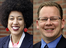 Washington state OSPI candidates Erin Jones and Chris Reykdal