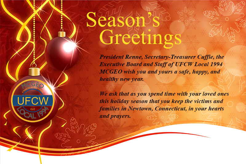 Season's Greetings President Renne,