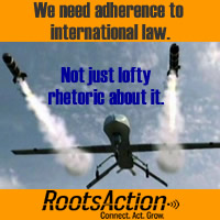 We need adherence to international law