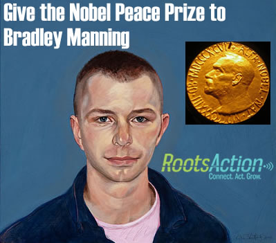 peace prize for manning