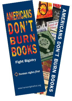 Americans Don't Burn Books Bookmark