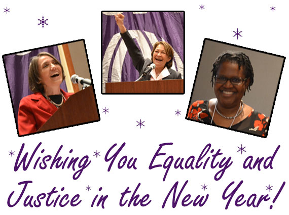 Happy Holidays - Wishing You Equality and Justice in the New Year - Give To NOW