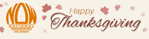 National Organization for Women | Happy Thanksgiving
