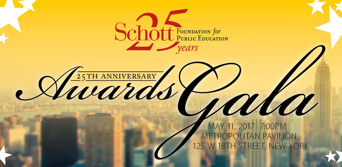 Schott Foundation 25th Anniversary Awards Gala