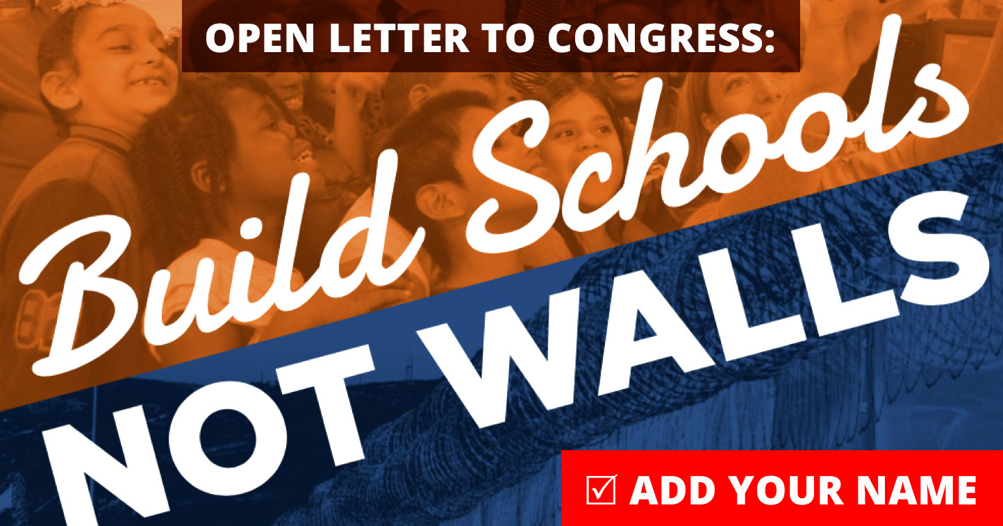 Open Letter to Congress
