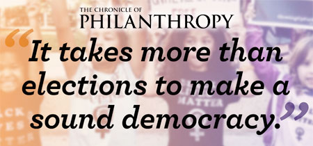 It takes more than elections to make a sound democracy.