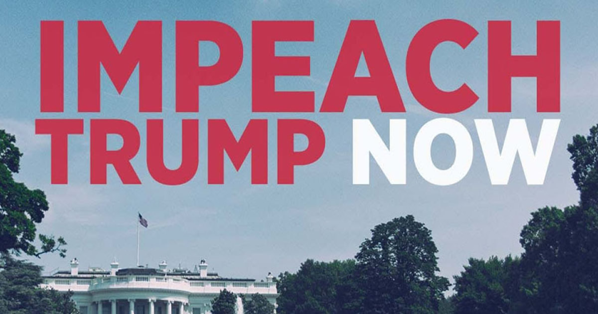 Timothydalbey Its Time To Impeach Donald J Trump Heres Why