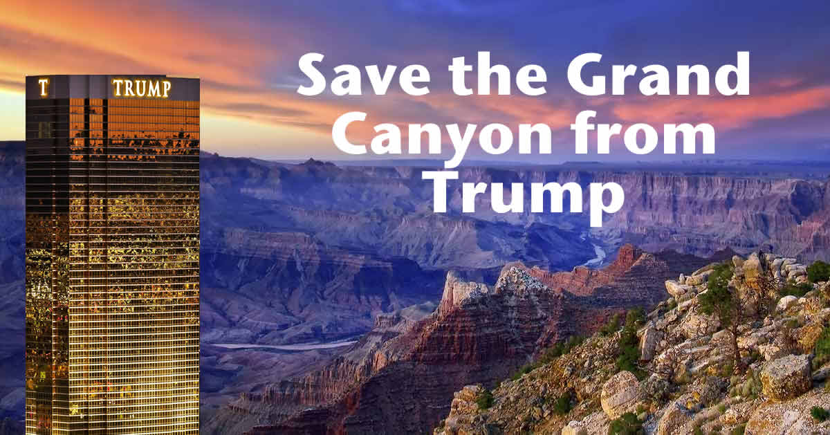 Canyon Vs Colorado >> Trump vs. Grand Canyon. Which side are you on?